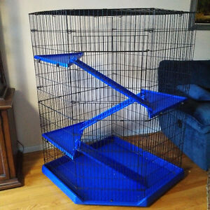 Big cage for chinchilla guinea pig rabbit rodent