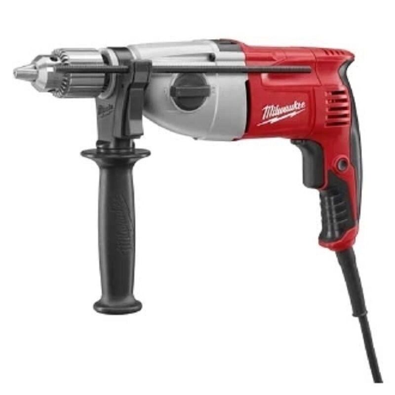Milwaukee 5378-21 1/2 in. Pistol Grip Dual Torque Hammer-Drill With Case
