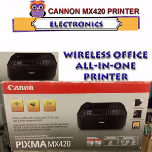 CANNON MX 420 OFFICE WIRELESS ALL-IN-ONE PRINTER