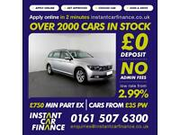 Volkswagen Passat Tdi Bluemotion Estate 1.6 Diesel GOOD / BAD CREDIT CAR FINANCE