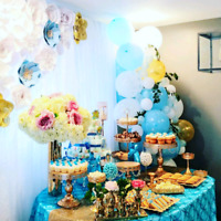 BABY SHOWER, BRIDAL SHOWER & ALL EVENT DECOR