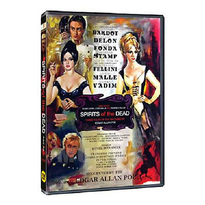 Spirits Of The Dead (1968) 3-disc Set DVD - Federico Fellini, Louis Malle (*New)