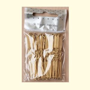 Hair pins 36 blonde waved hair bobby bun kirby pins 50mm