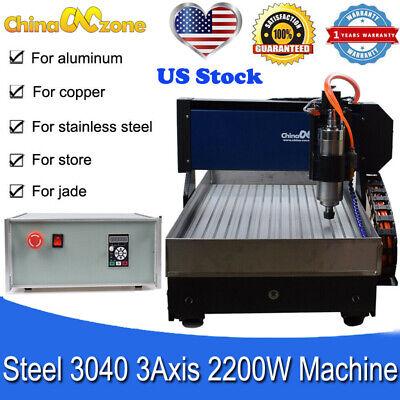 Steel Cnc 3040 3 Axis Engraving Cutting Machine Mach3 Usb Diy Machine For Metal