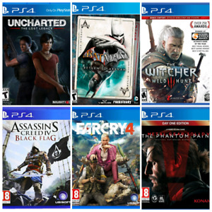 (PS4 Used Games 4 Sale)
