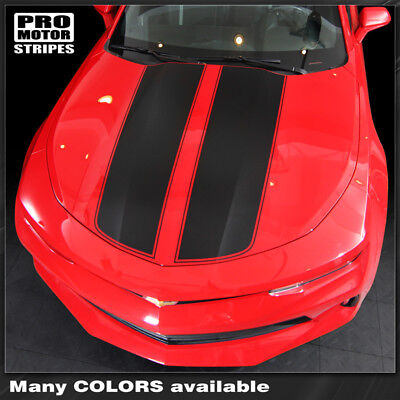 Chevrolet Camaro 2016-2018 Front & Rear Rally Sport Stripes Decal (Choose Color)