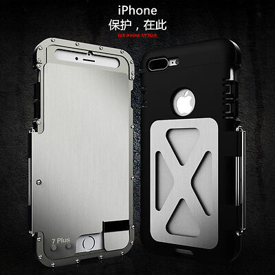 King Case Armor Metal Stainless Steel Case For IPhone and Samsung Galaxy Phones -