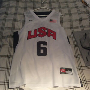 Team USA Lebron James jersey