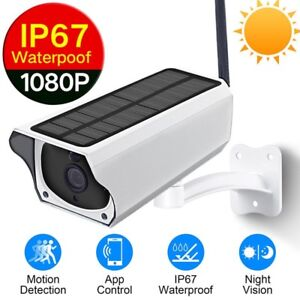 Outdoor Solar Security Wi-Fi Night Vision Camera