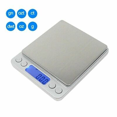 Digital Jewelry Scale 3000g x 0.1g Gold Silver Coin Gram Pocket Size Herb Grain