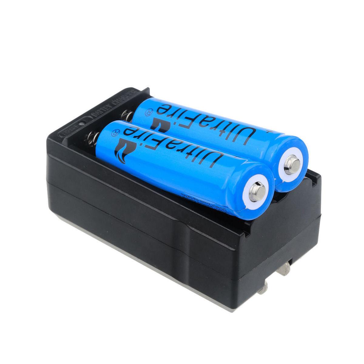 2pc UltraFire 3000mAh 18650 Battery 3.7v Li-ion Rechargeable