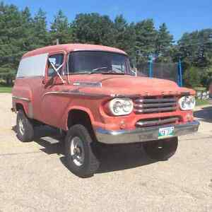 selling my 58 power wagon 4 by 4