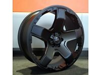 "20"" Veemann VX5 wheels and tyres suitable for a Nissan Navara or Mercedes X-Class"