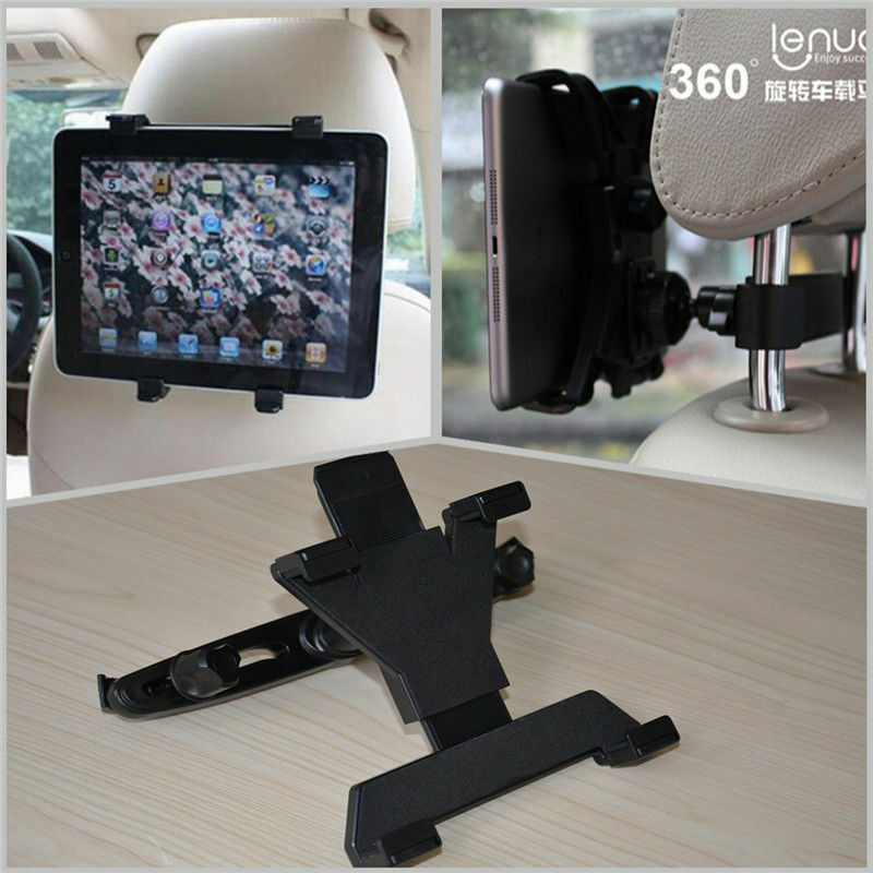 Car SUV Back Seat 360°Rotate Bracket Mount Holder Stand Bracket For iPad Tablet