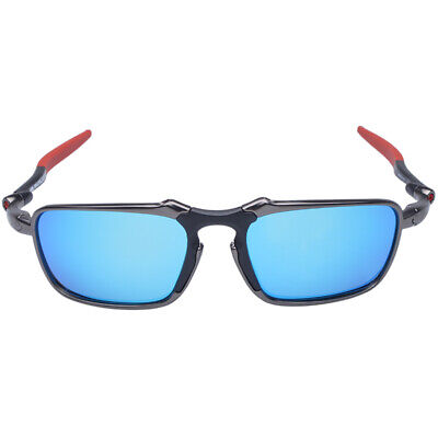 - Men Polarized Cycling Sunglasses Alloy Frame Glasses 100% UV400 Bike Goggles -20