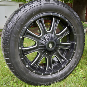 Tundra Rims and Cooper Tires