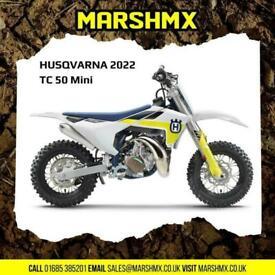 Husqvarna TC50 Mini 2022 Model Uk Bike - Nil Deposit Finance Available