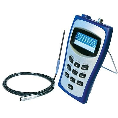 Fw Bell 5180 Magnetometer Gaussmeter Teslameter Dc-30 Khz. International Adapter