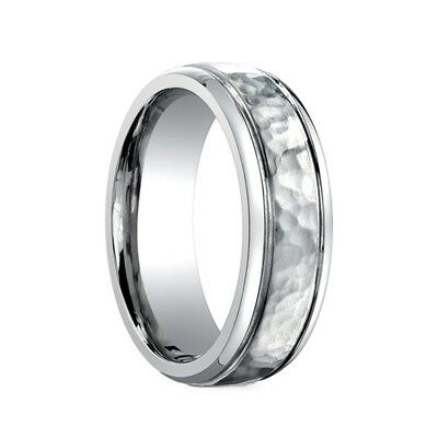 Titanium Wedding band Ring Men's Benchmark Size 10 Benchmark Titanium Wedding Ring