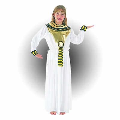 Toga Party Girl Costume (CLEOPATRA EGYPTIAN NILE QUEEN GIRLS FANCY DRESS COSTUME TOGA PARTY)