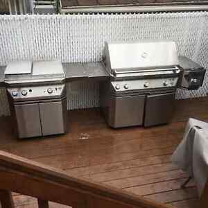 """TWIN EAGLE  BBQ 42"""" with Rotisserie  motorized stick....."""