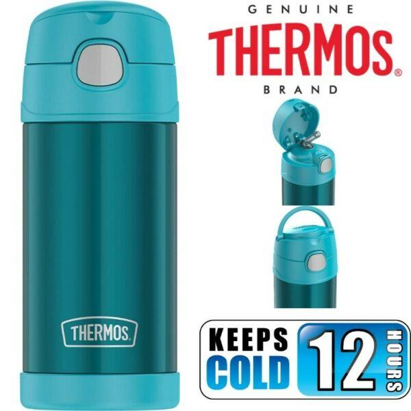 BN: Thermos Funtainer 12 Ounce Water Bottle, Teal