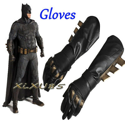 Batman Bruce Wayne COS Batman Cosplay Gloves Only Halloween Costume Free Size