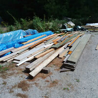 Assorted Trim, Structural and Framing Lumber