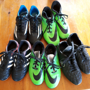 Youth soccer cleats $25 per pair
