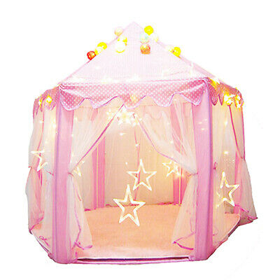 inderzelt Prinzessin Zimmerzelt Kinderschloss Spielmatte PB (Prinzessin Schloss Spiel-zelt)