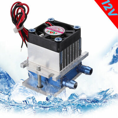 Thermoelectric Peltier Refrigeration Cooling Water Cooler Fan System Heatsink