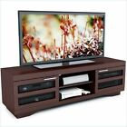 Wood Veneer Transitional Entertainment Centers & TV Stands
