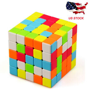 5X5X5 Speed Professional Rubik's Cube MagicTwist Color Puzzle Toy Gift