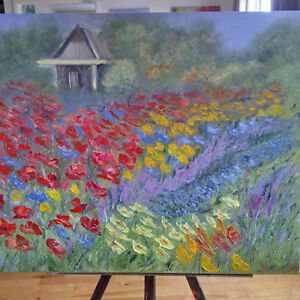Beautiful Oil on Canvas Original Painting - Perfect Condition St. John's Newfoundland image 9