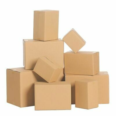Shipping Boxes Packing Mailing Corrugated- Many Sizes Available 25 50 75 100 Qty