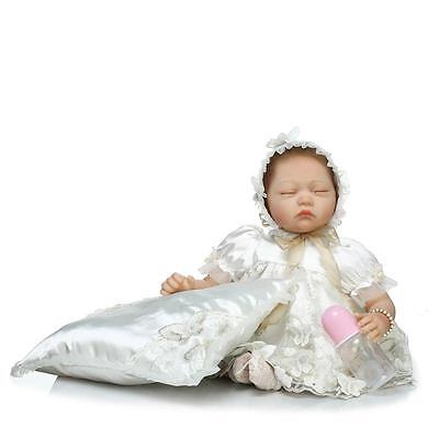 """22"""" Reborn Baby Girl Dolls Clothing Set Newborn Likelife Not Inculding Doll Gift for sale  Shipping to Canada"""