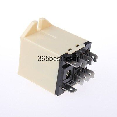 JQX-30F 2Z Plug In Type DC 24V 30A DPDT General Power Relay 8 Pin Plug-in Relay 8 Pin