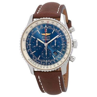 Breitling Navitimer 01 Aurora Blue Dial Automatic Mens Chronograph Watch