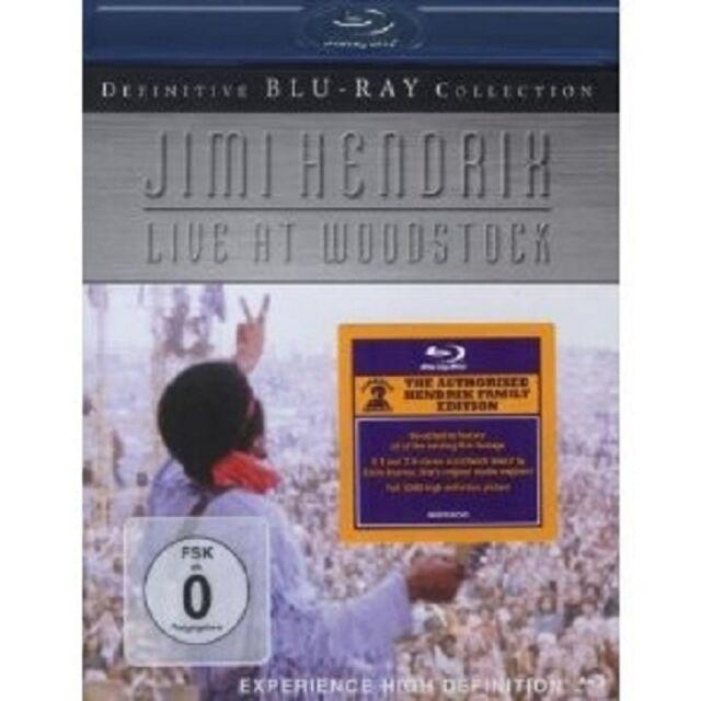 "JIMI HENDRIX ""LIVE IN WOODSTOCK"" BLU - RAY NEU"