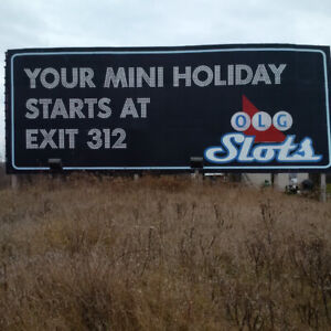 SIGN FOR LEASE- HWY 401 EASTBOUND GTA