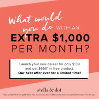 Join my team!! As a Stella & Dot Independant Stylist