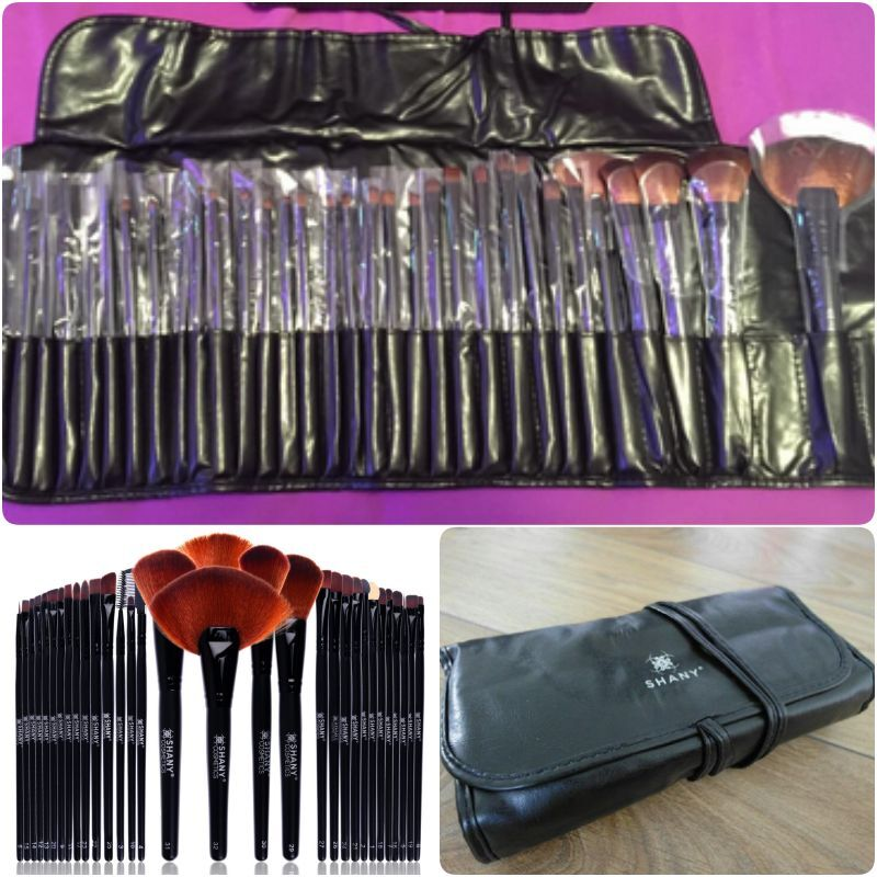 Professional 32 Count Makeup Brush SHANY Natural Top Quality Goat Badger Hair