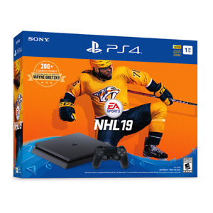 Brand new ps4 slm 1tb NHL19 sold out bundle
