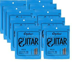 ELECTRIC GUITAR STRINGS 10 SET Orphee-RX15 REGULAR SLINKY(.009-.042) 7L9L