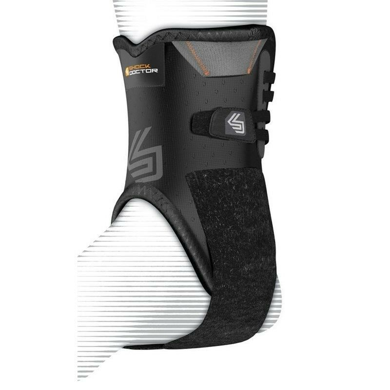 Shock Doctor 847 Ankle Brace with Bilateral Stabilisers Supp