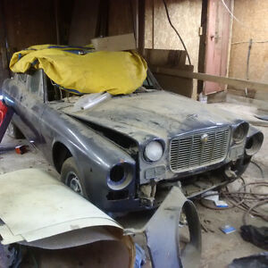 1972 Jaguar XJ Custom Project, Chevy V8 Ready