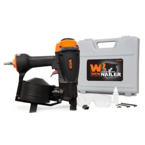 WEN , 3/4-Inch to 1-3/4-Inch Pneumatic Coil Roofing Nailer w