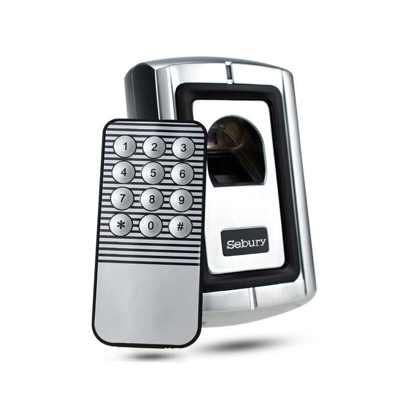 Metal Case Fingerprint Access Control Controller With 125KHz RFID Reader