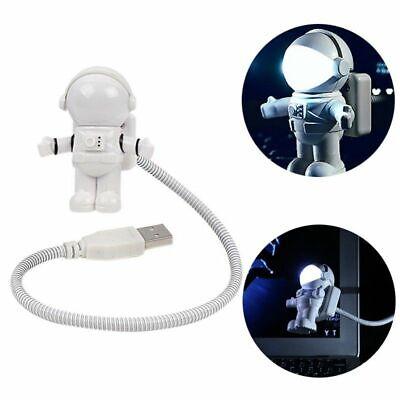 Led Adjustable Night Light - Cool Astronaut USB LED Adjustable Night Light for PC Notebook Spaceman Lamp Desk