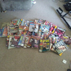 Huge Collection of Martial Arts and Boxing magazines